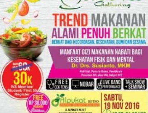 Trend Makanan Alami Penuh Berkat