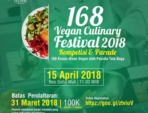 168 Vegan Culinary Festival 2018