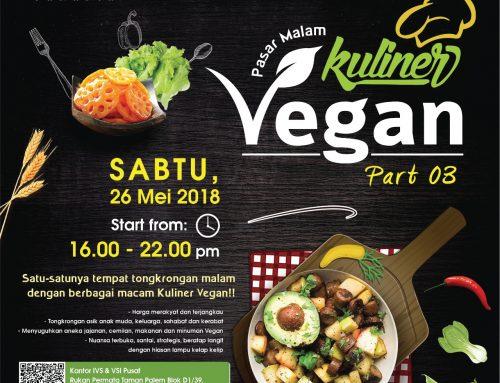 Pasar Malam Kuliner Vegan