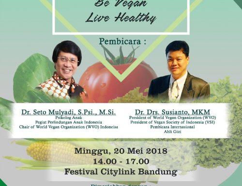Vegan Talkshow – Be Vegan Live Healthy