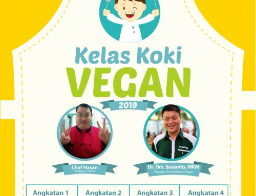 Kelas Koki Vegan 2019
