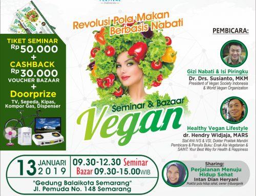 Seminar dan Bazar Vegan