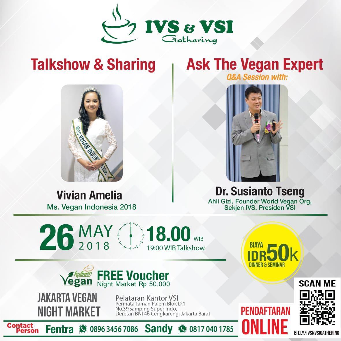 Seminar dan Talkshow Vegan