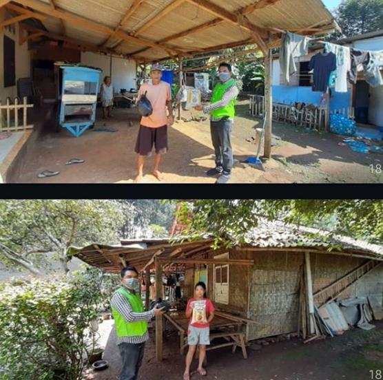 IVS-VSI Charity – Distribusi Masker dan Sembako di Binong, Kracak dan Tanjung Kait